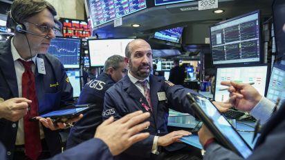 U.S. stocks plunge as bitcoin crashes, tech falls