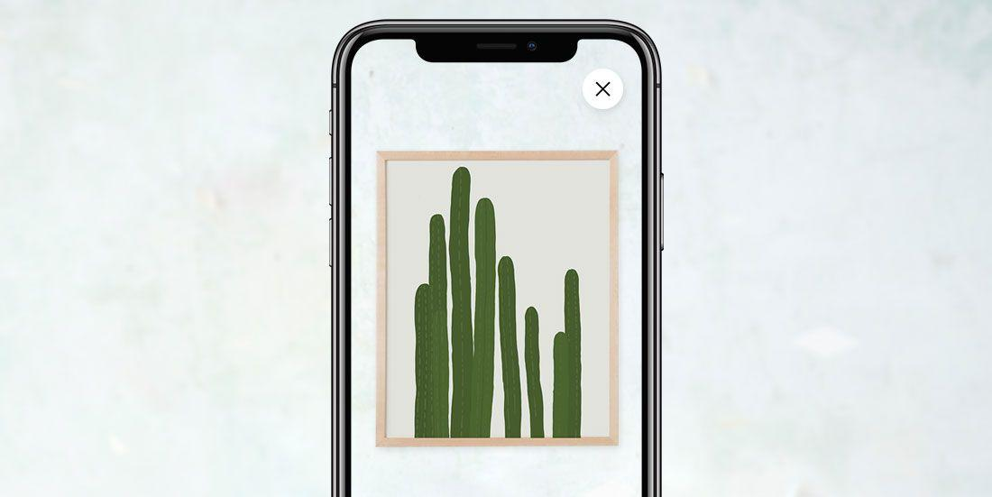 Etsy's New Augmented Reality App Feature Makes Buying Wall Art So Much Easier