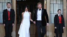 Meghan Markle's reception dress her last chance to reflect 'the joy and the human within her', says Stella McCartney