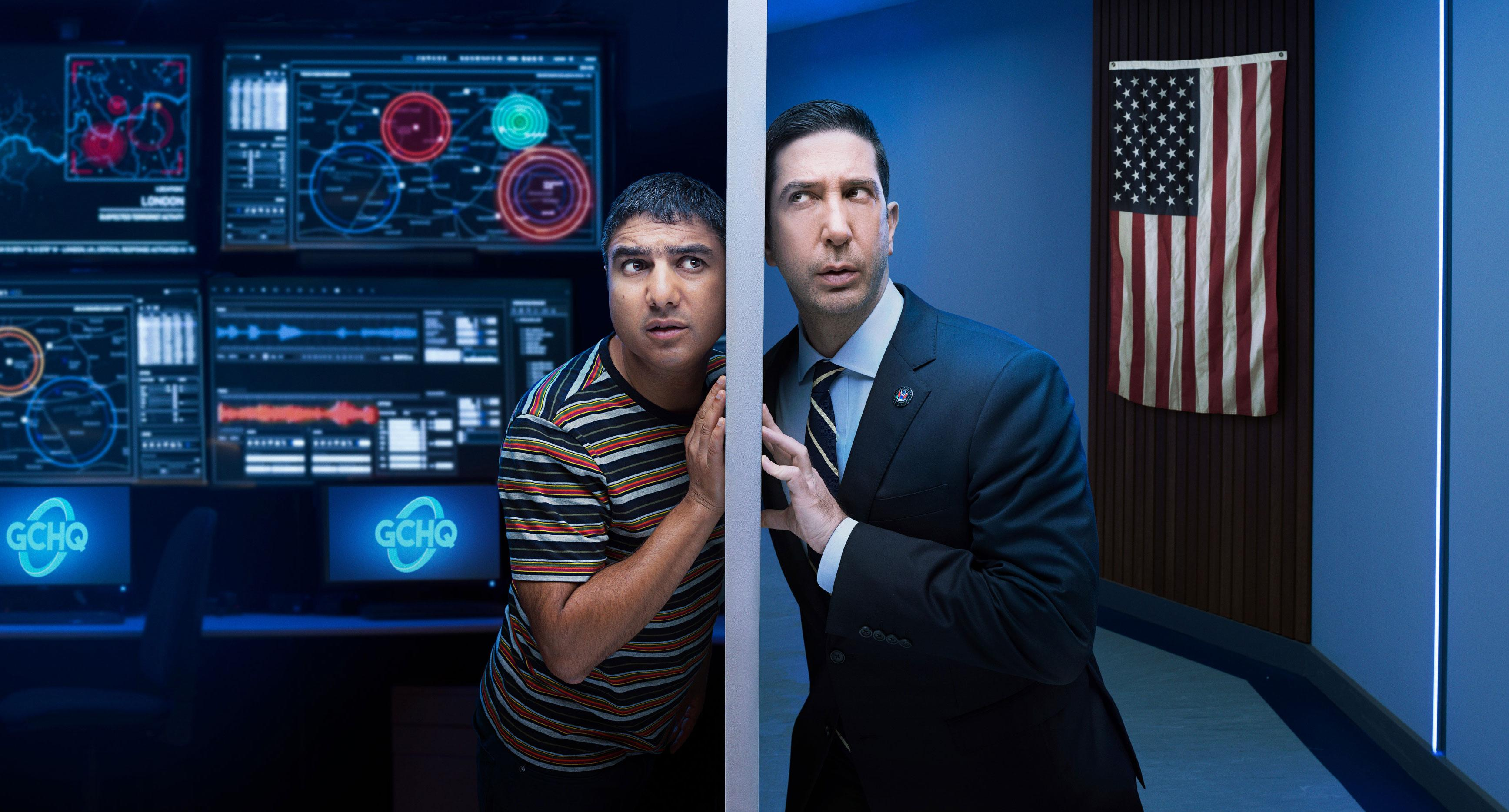 David Schwimmer reveals how 'Intelligence' role helped him to channel political anger