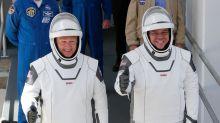 SpaceX capsule and NASA crew make first splashdown in 45 years