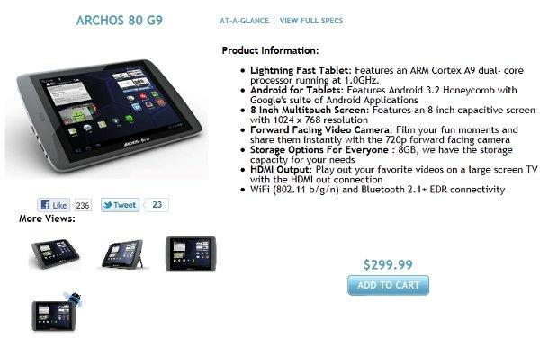 Eee Pad Slider shipping now, Archos 80 G9 hits pre-order status