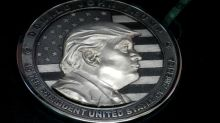 Russian company mints 1 kg silver Trump coin
