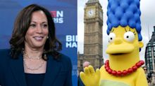 'A little disrespected': Marge Simpson responds after Kamala Harris comparison