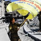 Fall of ISIS Capital: Photos Show Syrians Celebrating the End of Islamic State in Raqqa