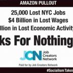 New billboard blasts Ocasio-Cortez for driving Amazon out of NYC