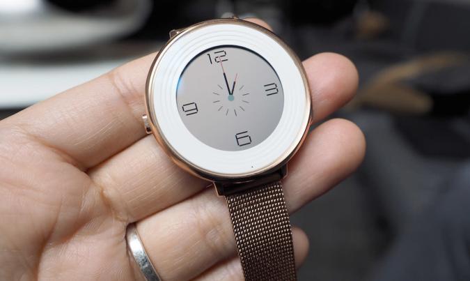 Pebble Time Round ist die aktuell leichteste und dünnste Smartwatch