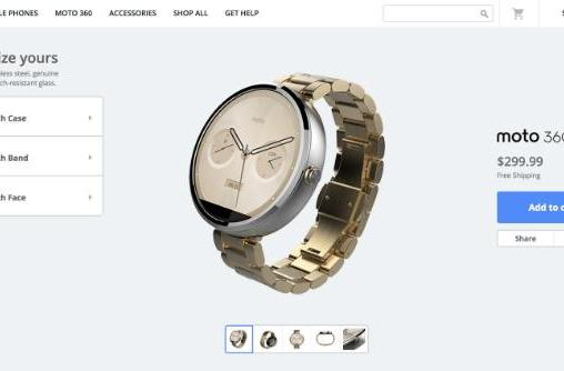 Customize your Moto 360 smartwatch with Moto Maker