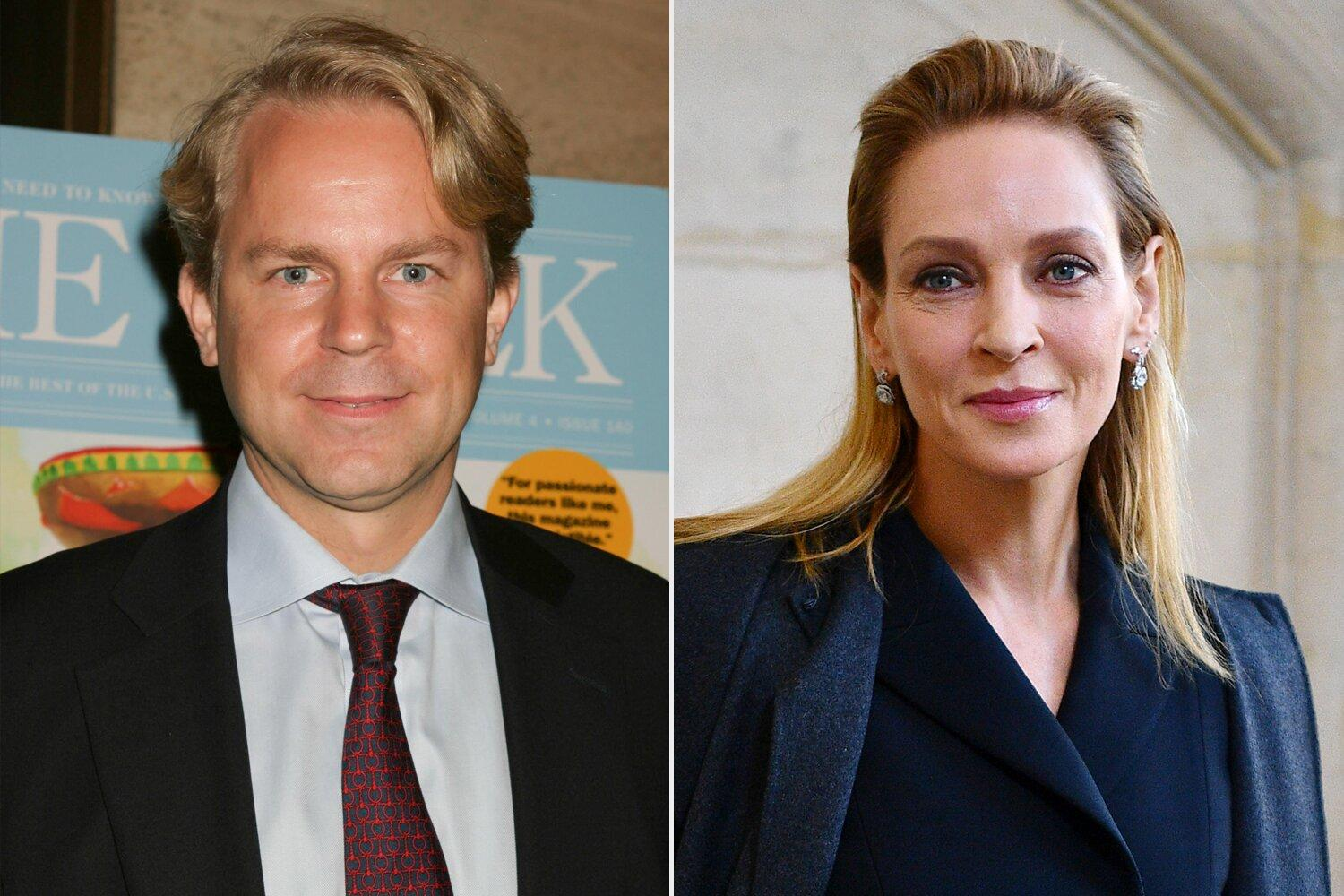 Uma Thurman Is Reportedly Dating Bloomberg Media CEO Justin B. Smith: 'I'm a News Lover'