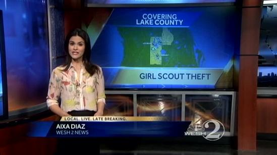 Troop leader calls 911 about stolen Girl Scout money