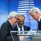 Popcorn to hand, EU watches Brexit show but frets for own future