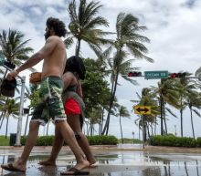 Tropical Storm Isaias moves up coast of virus-hit Florida