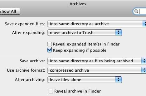Mac 101: Use Archive Utility preferences for control over archives