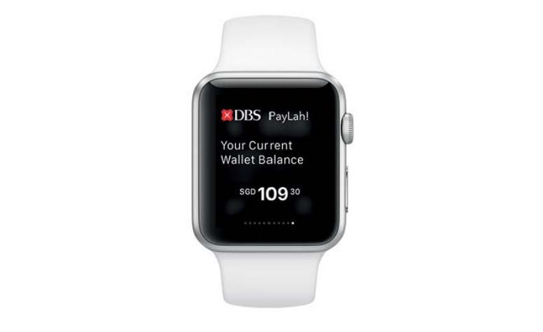 Singapore's DBS bank brings its Paylah mobile payments app to Apple Watch