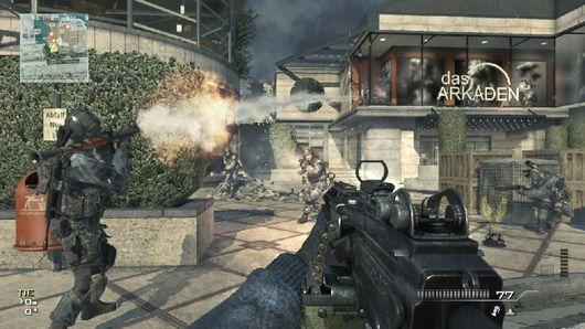Modern Warfare 3 ad too violent for UK soccer time