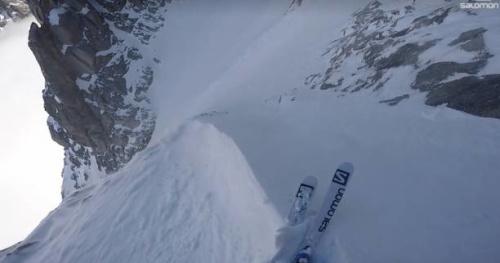 Ski - Vidéo : le ski de pente raide par Tony Lamiche et Alex Pittin