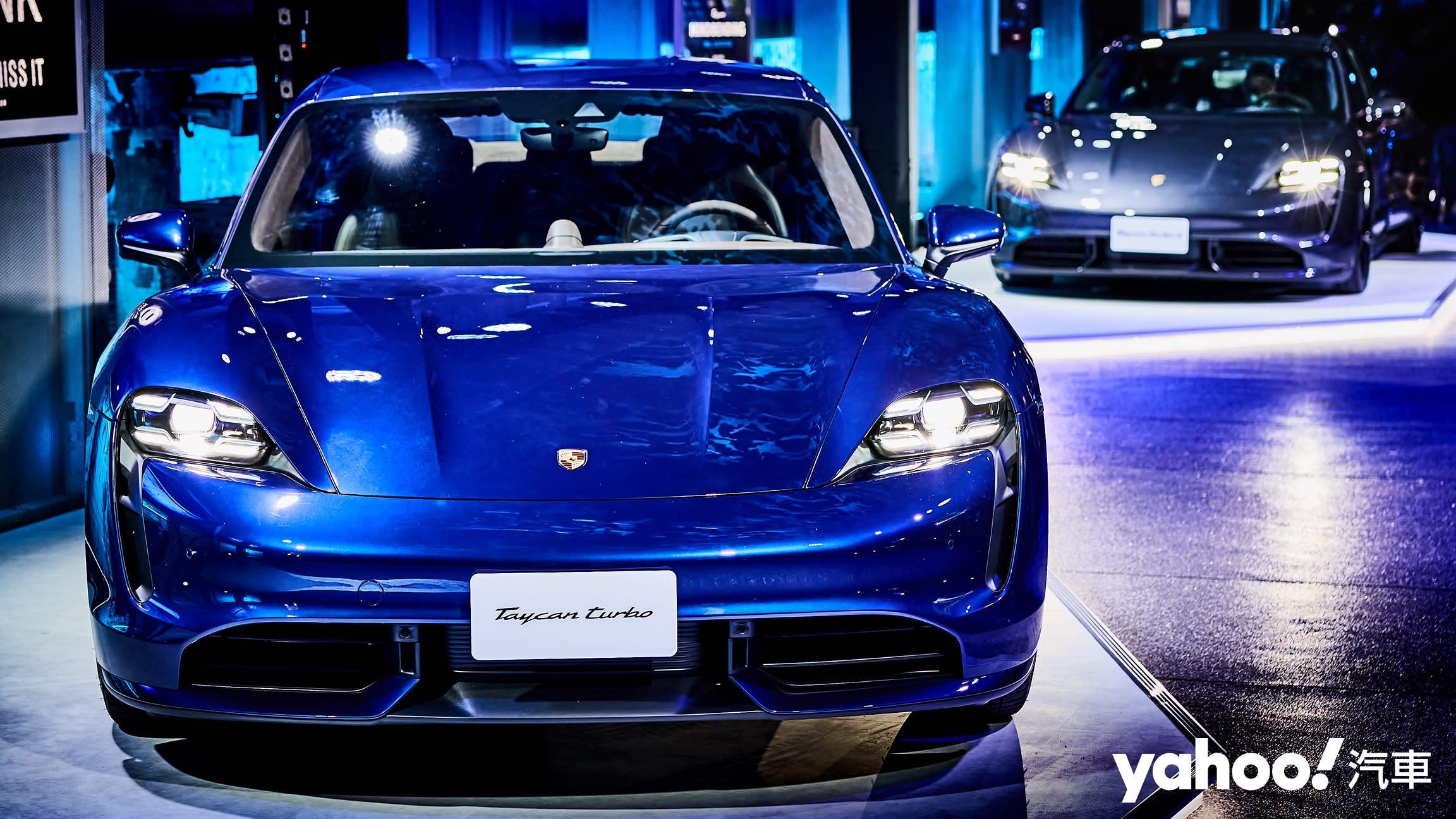 【新車圖輯】電掣神馳令人心嚮往!終於到來的玩美純電座駕-2021 Porsche Taycan正式上市!