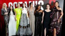 Las estrellas de 'Ocean's 8' protagonizan el estreno más glamuroso y femenino