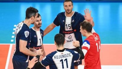 Volley - Ligue A (H) - Paris s'offre Nice et un bol d'air