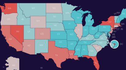 Coronavirus will likely hit these states hardest