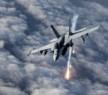 The US launched strikes to destroy military equipment the Taliban captured from Afghan security forces