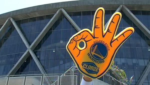 Warriors using social media to hype Oracle crowd