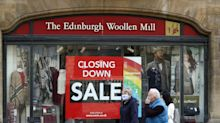 Thousands of jobs at risk as Edinburgh Woollen Mill and Ponden Home collapse