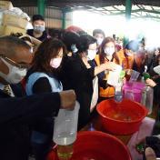 影/芳苑鄉婦女關懷協會發起抗「疫」活動