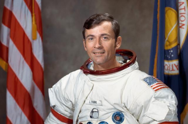 Original Space Shuttle commander John Young dies