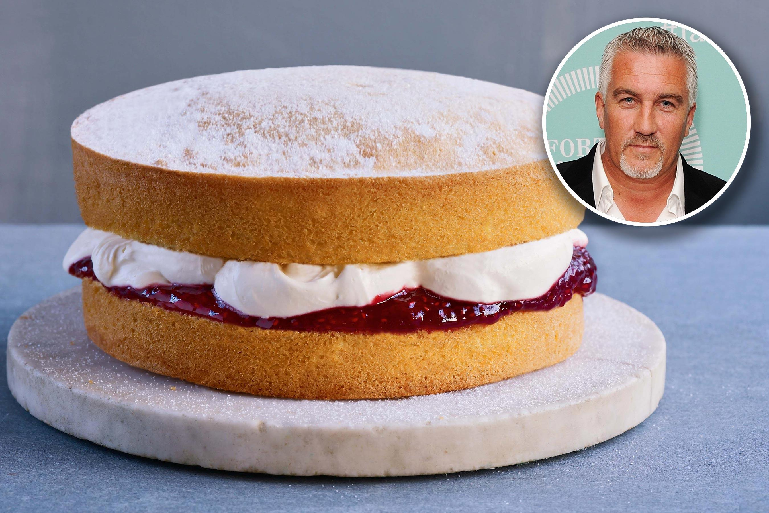 the great british baking show judge paul hollywood shares his victoria sponge recipe