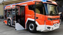 Neuanschaffung: Mit E-Motor: Berlin hat modernstes Feuerwehrauto der Welt