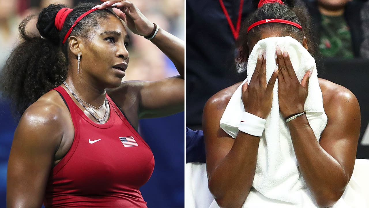 Serena Williams suffers extraordinary 21-year first in Fed Cup loss
