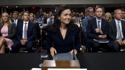 As Facebook faces fire, more eyes on Sandberg
