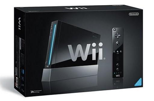 Black Wii packaging looks as good as its contents