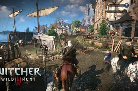 35 minutes of The Witcher 3: Wild Hunt gameplay