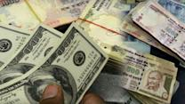 Rupee down 16 paise against dollar on Monday early trade