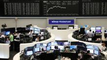 Global stocks slip, U.S. yields rise on retail sales data