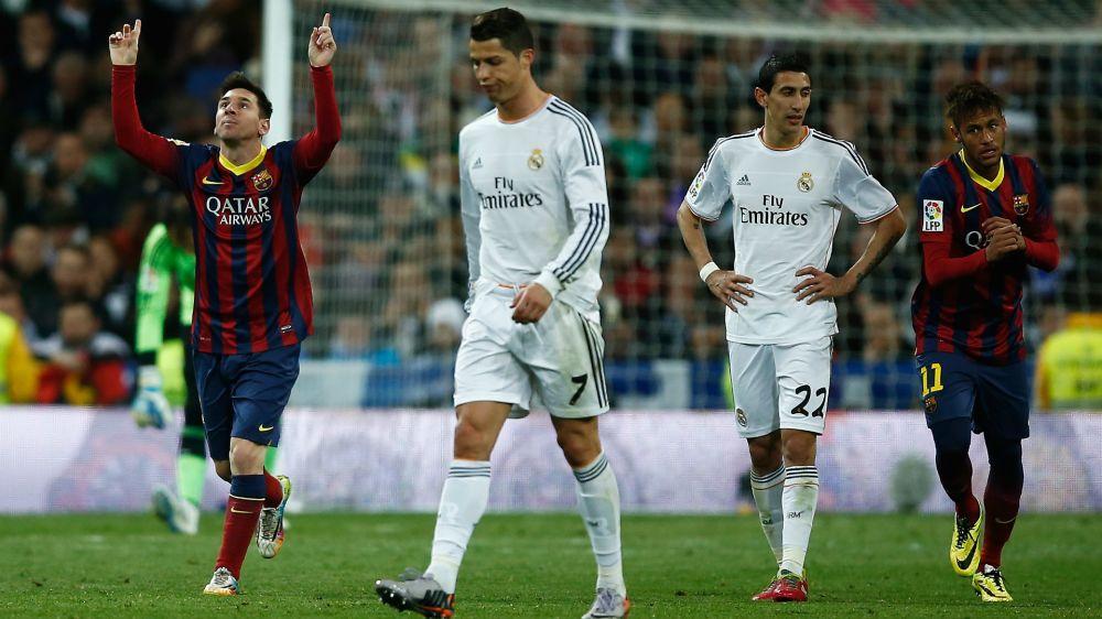 Messi, mejor en el Bernabéu