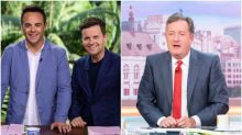 Ant And Dec Brand Piers Morgan A 'Snowflake' Over Reaction To I'm A Celebrity Gag