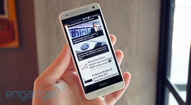 HTC One mini announced: Flagship looks, UltraPixel camera and 4.3-inch 720p display (hands-on)