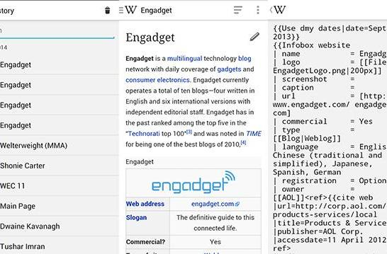You can now edit articles, view random pages on the Android Wikipedia app