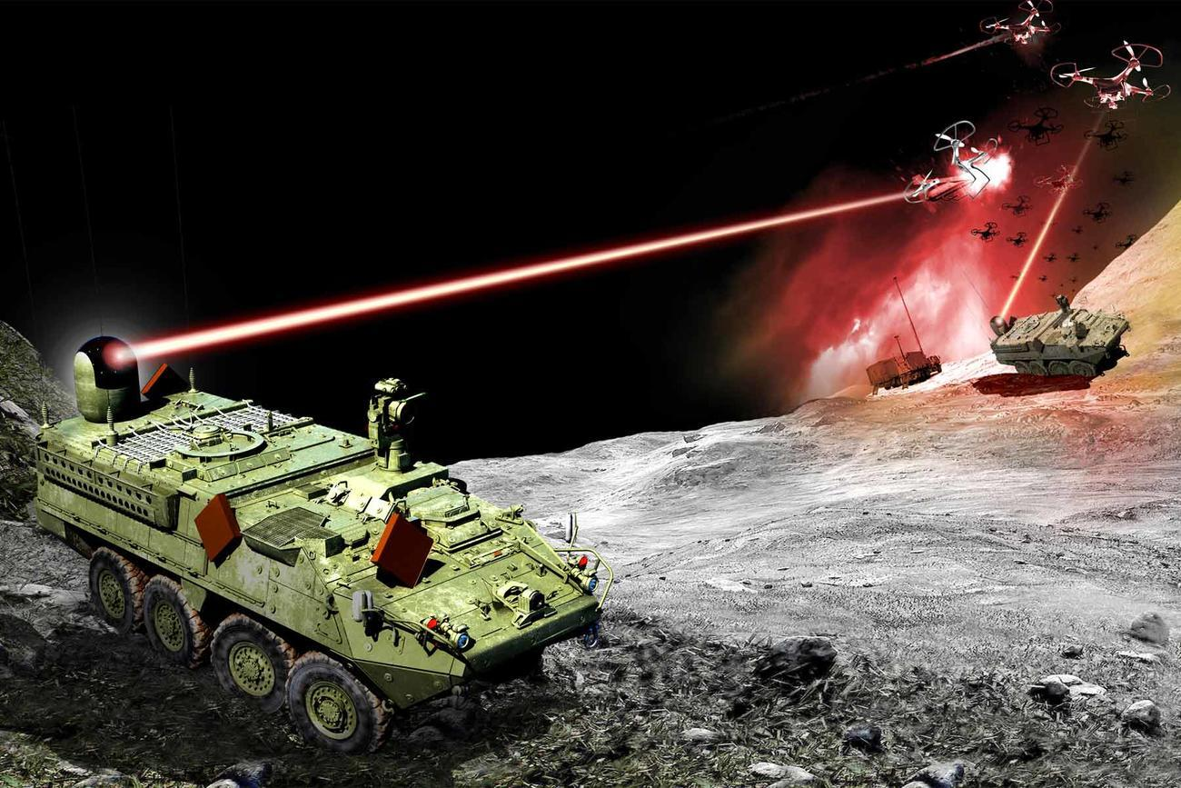 Soldiers to Shoot Lasers from Stryker Vehicles in Upcoming Test