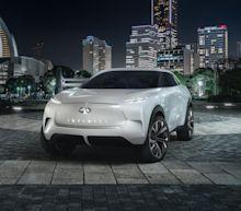 Photos of the Infiniti QX Inspiration Concept