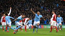 Manchester City takes League Cup with clever, convincing win over Arsenal