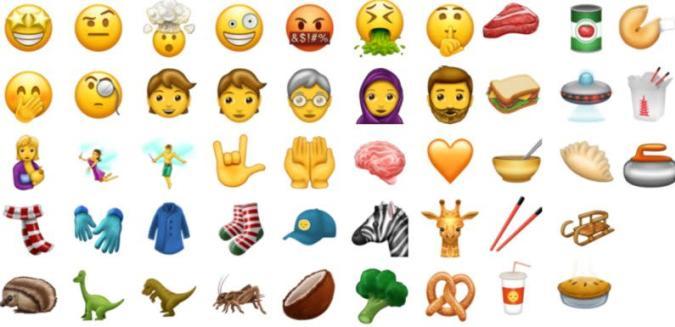 Sind das die 51 neuen Emojis für 2017?