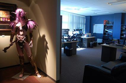 Explore the halls and amenities of Blizzard HQ