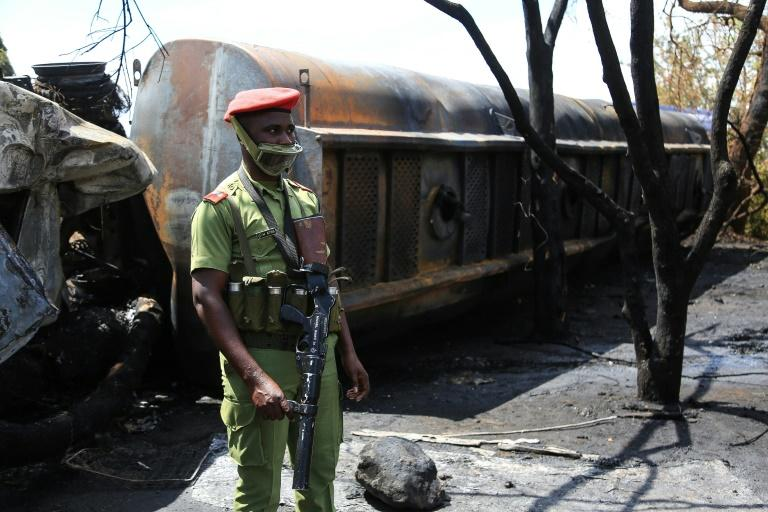 The blast engulfed a crowd that had gathered to take petrol from an overcrowded fuel truck
