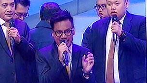 Ketika Host eatbulaga! Indonesia Jadi News Anchor