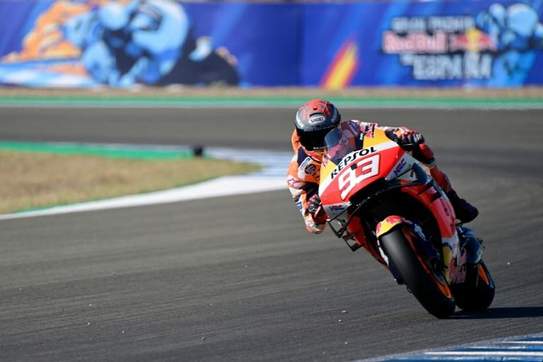 Marc Marquez was forced to cut short his comeback in Jerez last month after fracturing his arm in the season opener