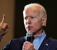 Biden says he'd 'disown' anyone who made online attacks like Bernie Sanders' supporters